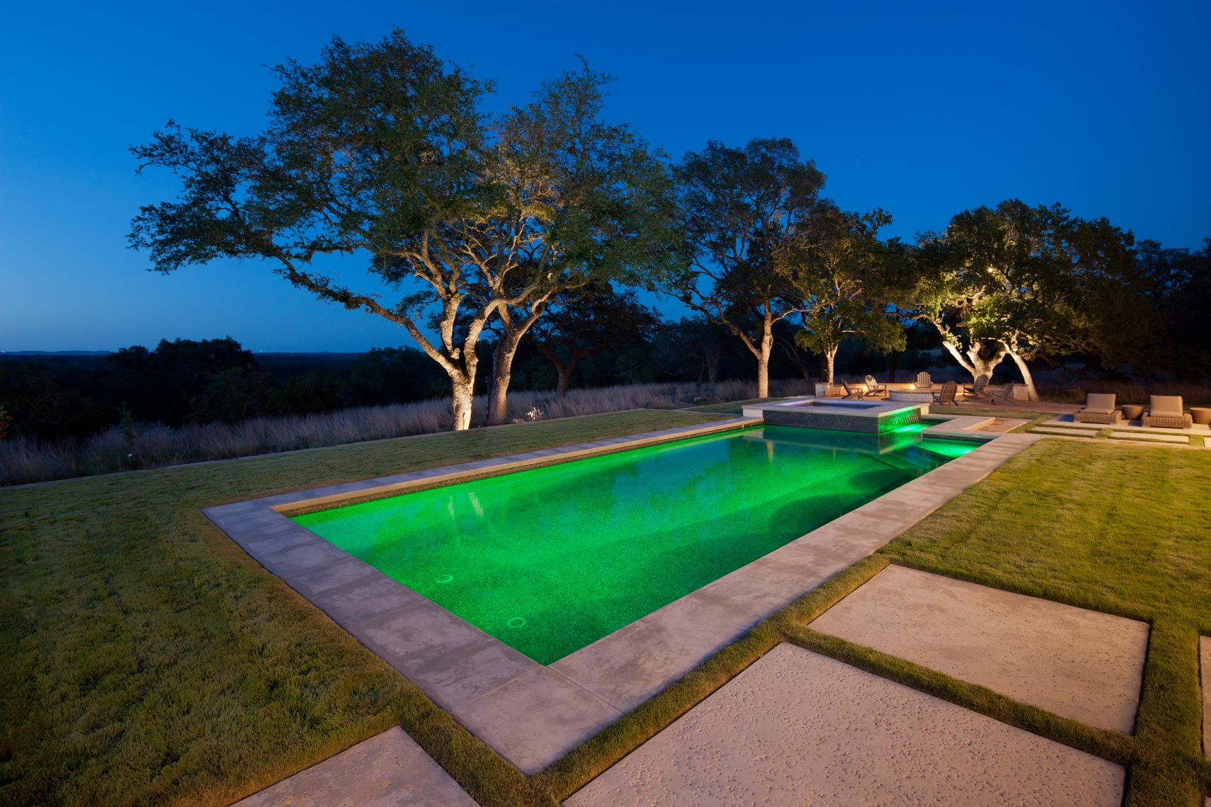 Pool in San Antonio Texas shot for Dynamic Environments/John Hackett.